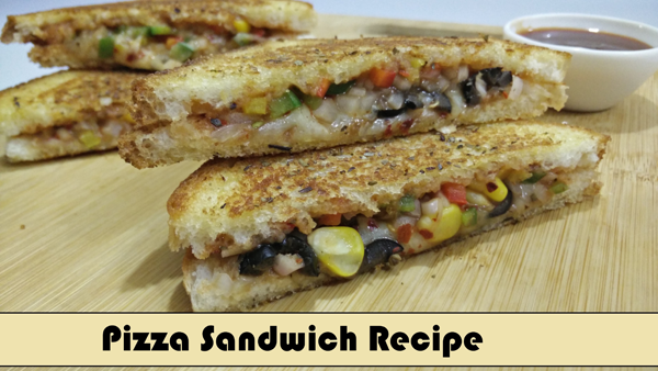 Pizza Sandwich YouTube Thumbnail