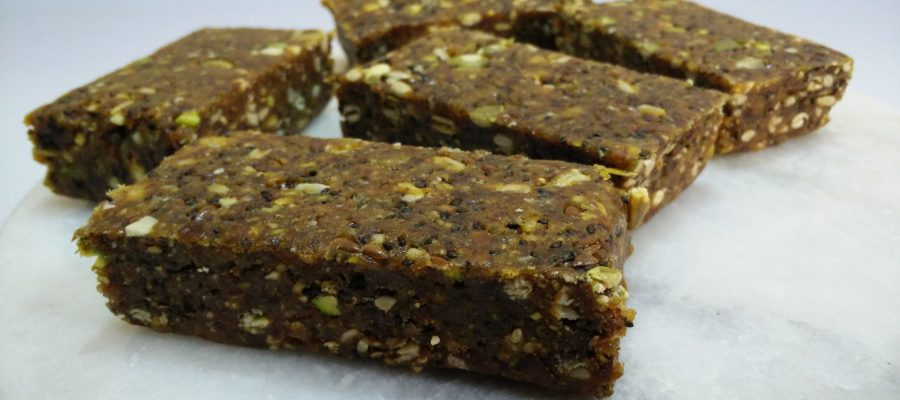 4 Seeds Energy Bar Recipe Image 1