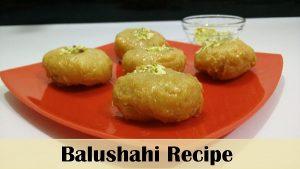 Balushahi YouTube Thumbnail
