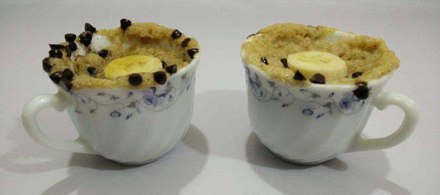Banana Oats Mug Cake Image 1