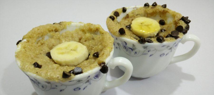 Banana Oats Mug Cake Image 3