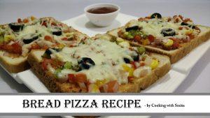 Bread Pizza YouTube Thumbnail