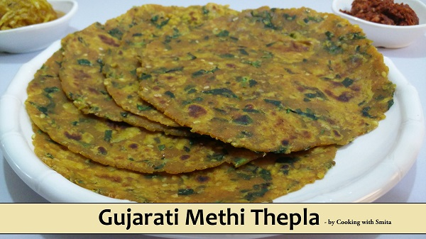 Gujarati Methi Thepla Recipe