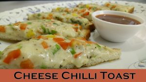 Cheese Chilli Toast by Cooking with Smita