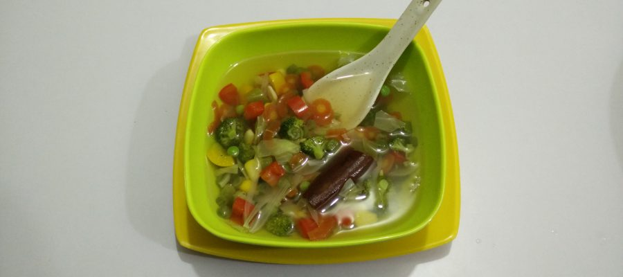 Mix Vegetable Soup for Weight Loss