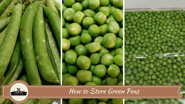 How to Store Green Peas | Frozen Peas