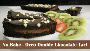 No-Bake Oreo Chocolate Tart