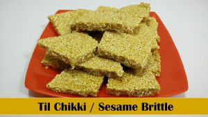 Til Chikki (sesame brittle) recipe