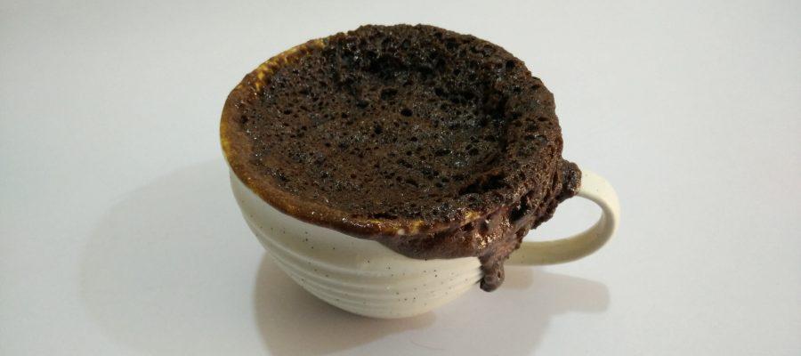 Eggless Double Chocolate Mug Cake Recipe