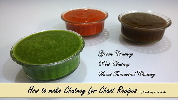 Chutney For Chaat Recipes by Cooking with Smita