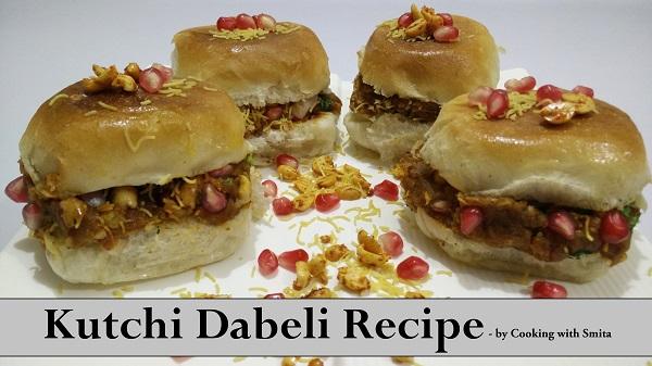 Kutchi Dabeli | Double Roti