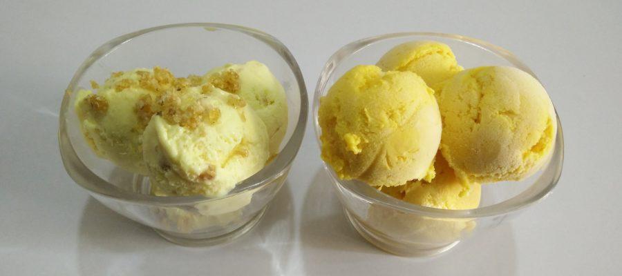 Mango Ice Cream & Butterscotch Ice Cream Recipe