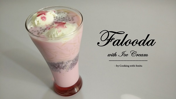 Falooda with Ice Cream
