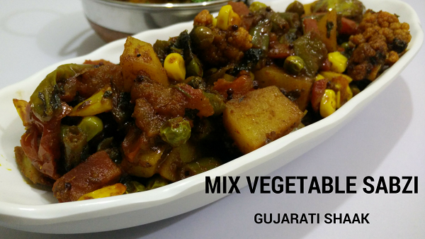 Mix Vegetable Sabzi | Gujarati Shaak