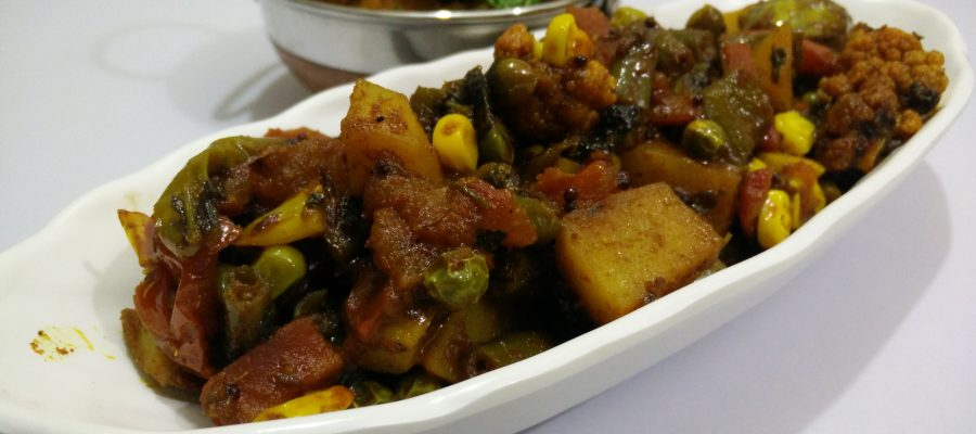Mix vegetable sabzi gujarati shaak recipe by cooking with smita mix vegetable sabzi gujarati shaak forumfinder Image collections