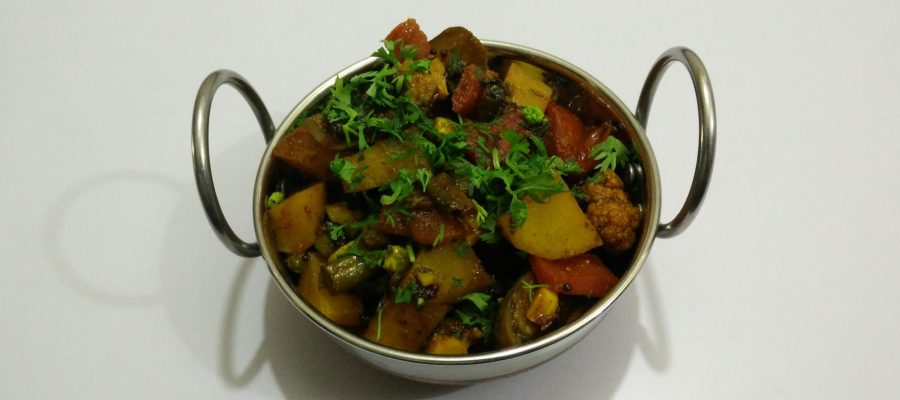 Mix Vegetable Sabzi Gujarati Shaak
