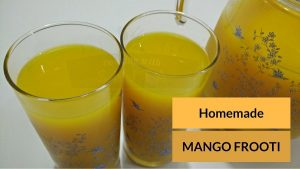 Homemade Mango Frooti Recipe