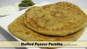 Stuffed Paneer Paratha Recipe