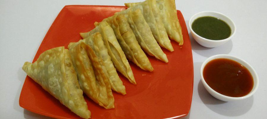 Irani Samosa - Onion Samosa Recipe