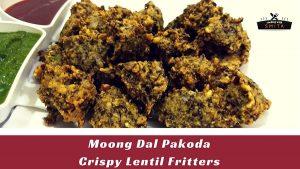 Moong Dal Pakoda - Lentil Fritters
