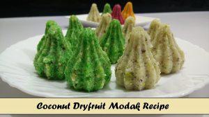 Coconut Dry Fruit Modak