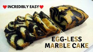 Eggless Marble Cake FI
