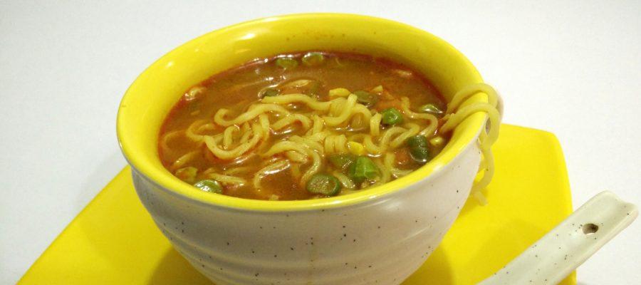 Maggi Vegetable Soup Recipe