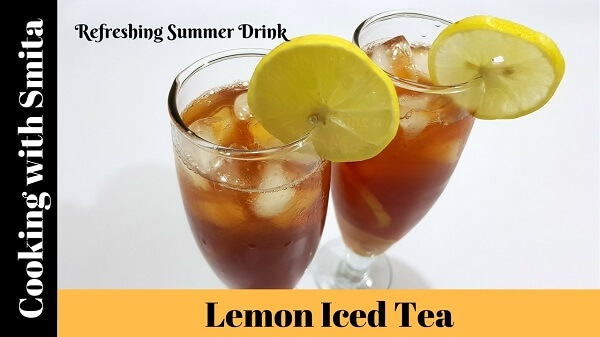 Perfect Lemon Iced Tea Recipe