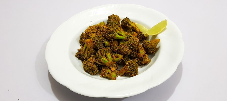 Healthy Broccoli Fry Recipe by Cooking with Smita