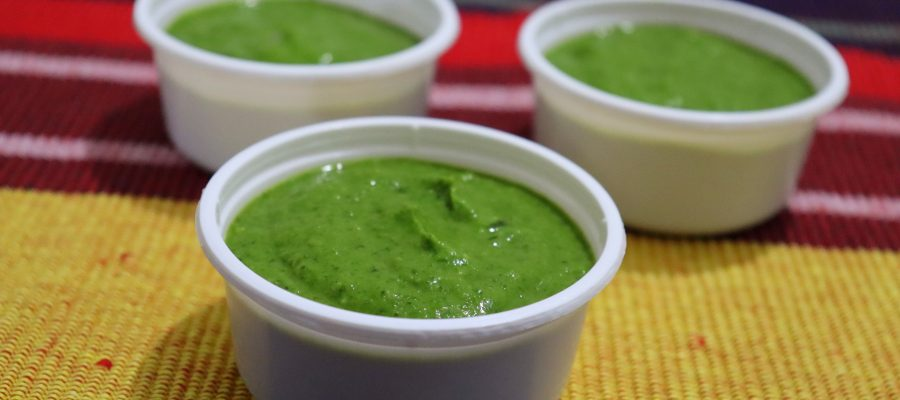 Special Chutney for Pakoda by Cooking with Smita